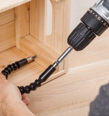 Bitholder fleksibel til handymanden