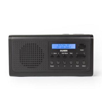 Bærbar DAB+ og FM-radio