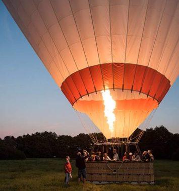 Luftballon under opstart