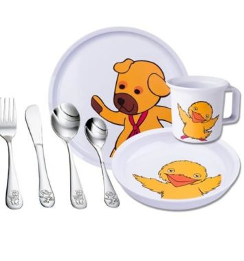 bamse og kylling bestiksæt
