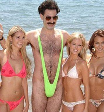 Borat Mankini badedragt til mænd