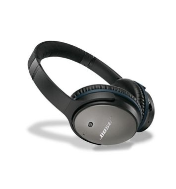 Bose QuietComfort 25 Acoustic Noise Cancelling Hovedtelefoner sort til Apple