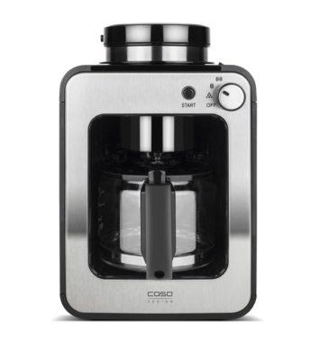 Gråmetal kaffemaskine