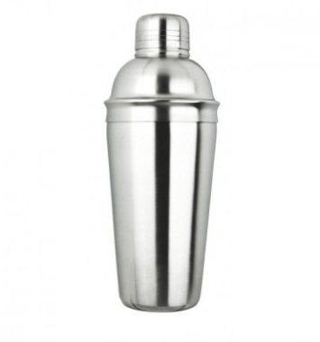 Cocktail shaker i rustfrit stål