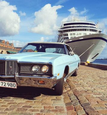 Cruise i amerikansk bil
