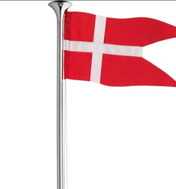 Lille dansk flag til bordet