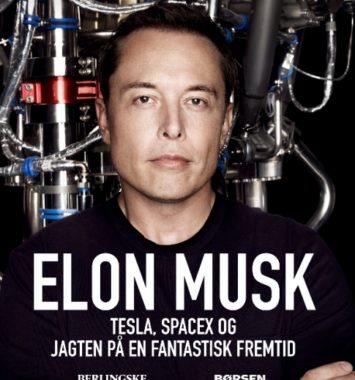 front cover af Elon Musks biografi