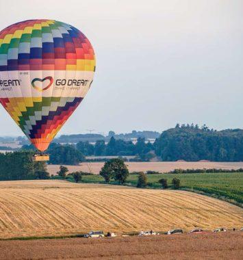 Flyv i luftballon og oplev jorden for et andet perspektiv