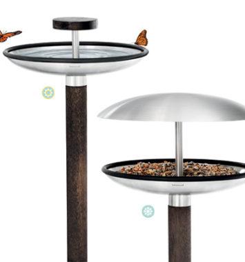 metal fuglefodrebræt og bad