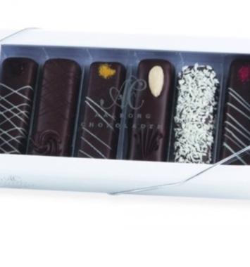 Fyldte chokolader som værtsgave