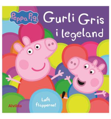 gurli gris i lege land pege finde bog