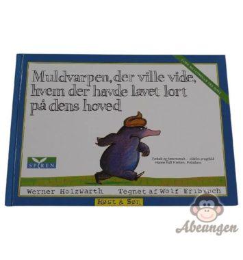 muldvarpen der ville vide hvem der havde lagt en lort på dens hoved børnebog