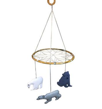 uro med isbjørne manostiles drømmefanger