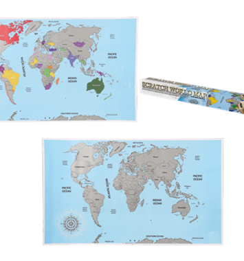 verdens kort skrab