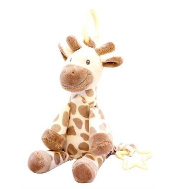 Girafbamse - Spiller musik ved ryk i halen