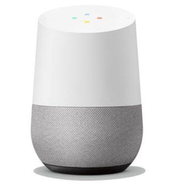 Google Home højtaler med stemmeaktivering som julegave