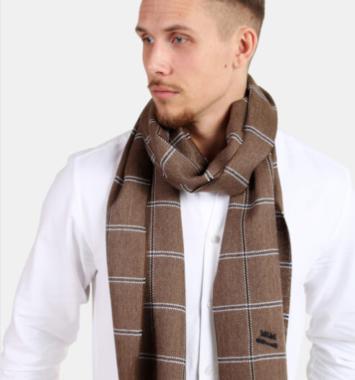 Halstørklæde fra MJM i brun