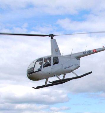 Helikopter tur oplevelse