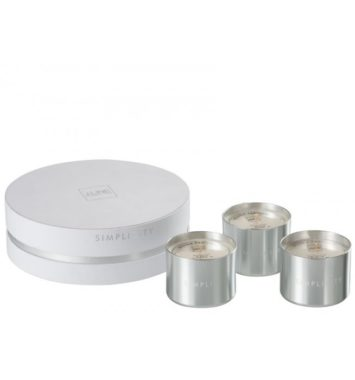 J-Line boks med 3 duftlys