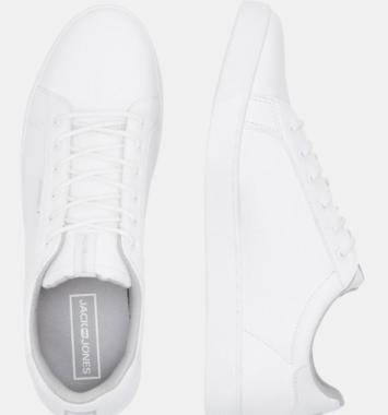 Jack og Jones hvide sneakers