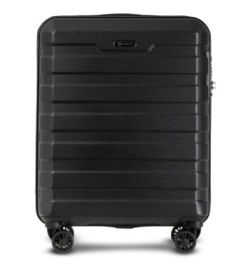 Kabine kuffert i sort 55 cm