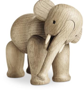 Elefant fra kay bojesen til gave