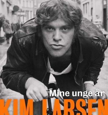 frontcover til kim larsens bog