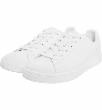 Klassiske hvide sneakers