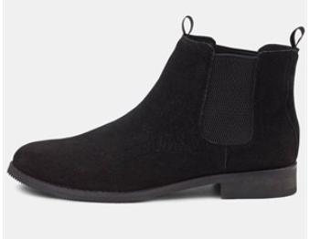 Kronstadt Chealsea boots i sort