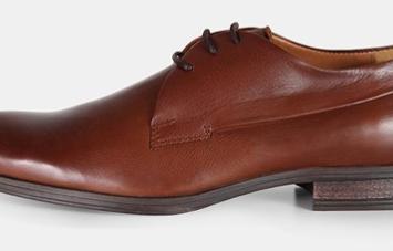 Læder sko fra jack&jones i cognac