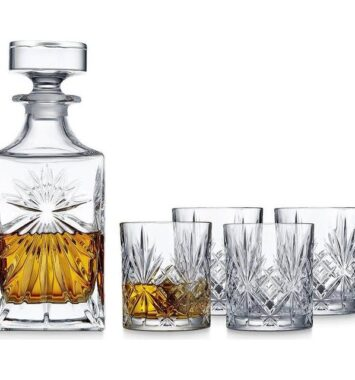 Lyngby-Melodia-Whiskeykaraffel-5-stk