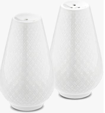 Lyngby porcelaen saltsaet hvid