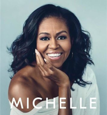 coverbillede af Michelle Obama der smiler