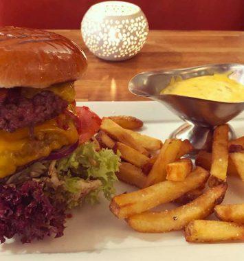 Monster burger for 2