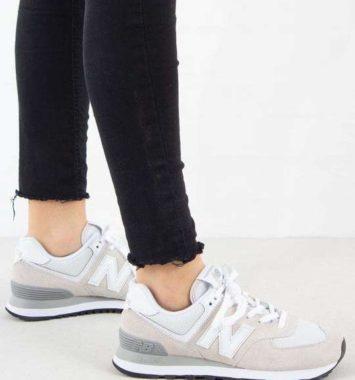 New Balance hvide sneakers til mor