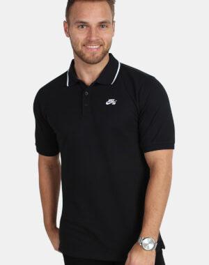 Nike polo i sort