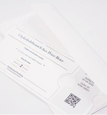 Oplevelsesgavekort til brudeparret