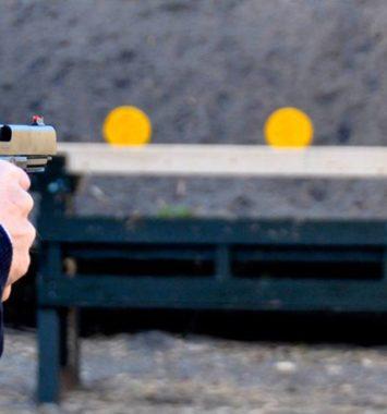 Pistol skydning