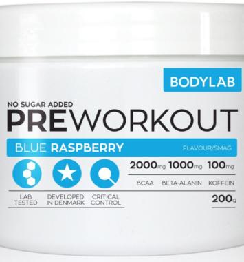 Preworkout bodylab til træning