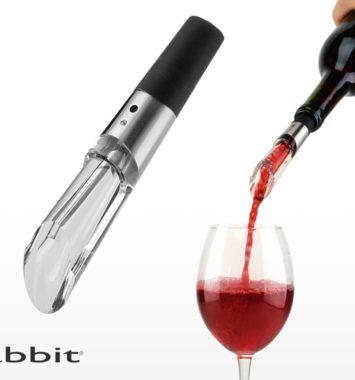 Vin ilter i sort og glas farve