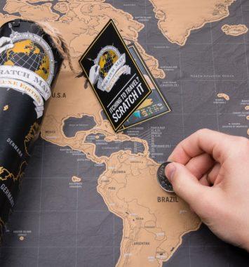 Scrath map- sjov rejsedagbog