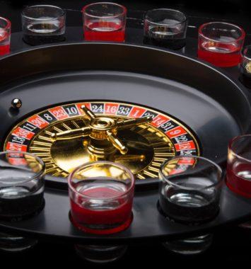 Shots roulette til festen