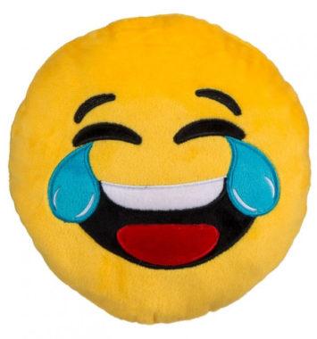 Sjov grine emoji pude