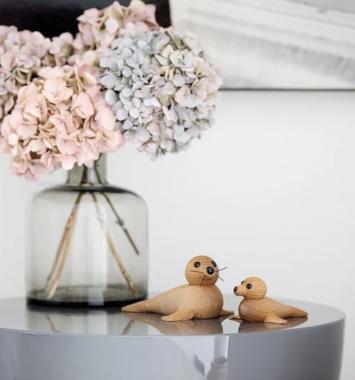 dekoration trae babysael