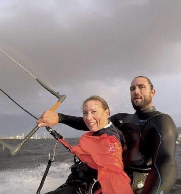 Tandem Kitesurfing