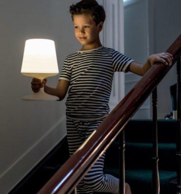 Trådløs lampe i flot design