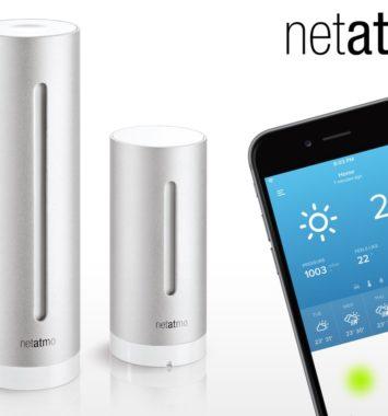 Wifi vejrstation fra Netatmo